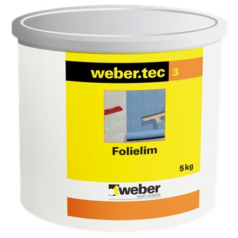 Webertec Folie och skarvlim  5 kg 28000