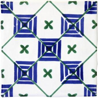 Smögen Dekor Azul Blå/Grön PS-1304 8053