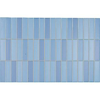 Illusion Mosaik Azul Blå 5336