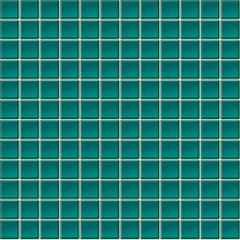 Glasmosaik Turkosblå Blank(E31)