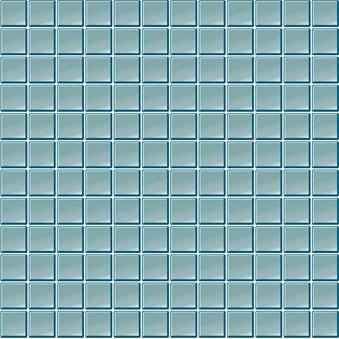 Glasmosaik Isblå Blank(B39) 5627