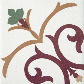 Kerion Branche Decor röd/gul/grön 4801