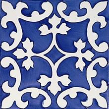Rustica Almazora Azul/Blå Blank Dekor