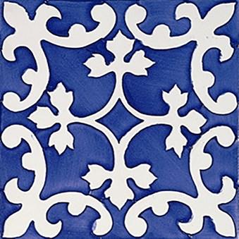 Rustica Almazora Azul/Blå Blank Dekor 3155