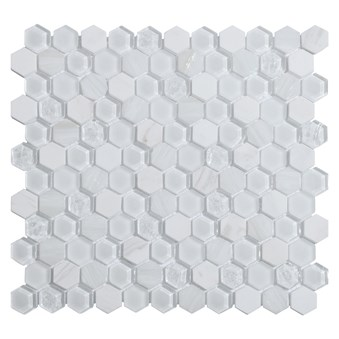 Living Vit Hexagon Glasmosaik 7138