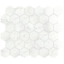 Marmi Cararra Levigato Hexagon Rect