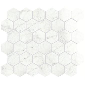 Marmi Cararra Levigato Hexagon Rect 7013