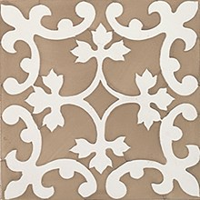 Rustica Almazora Siena/Brun Blank Dekor