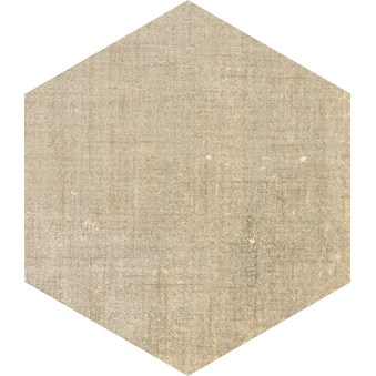 Terra Ocra Ljusbrun Hexagon 4718
