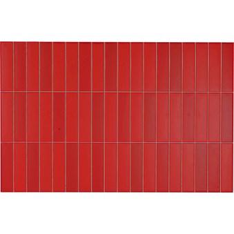 Illusion Mosaik Vermelho Röd 5338