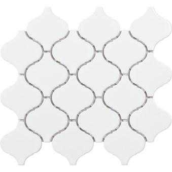 Tech Flame Vit Blank Mosaik 7298