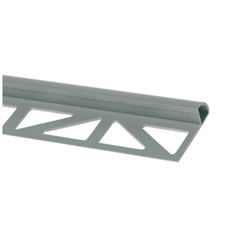 Kantlist plast grå 6mm 2,5m(Manhattangrå) 26091