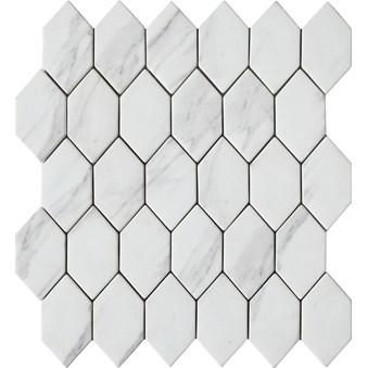 Urban Vit Romb Mosaik 7273