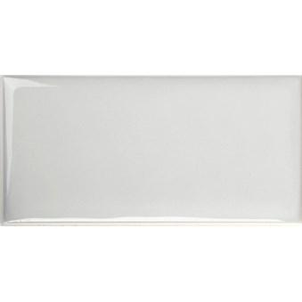 Cotton Perla Ljusgrå Vågig  Glossy Blank 7264