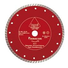 Diamantklinga TC-T 125/22 23mm Torrkap