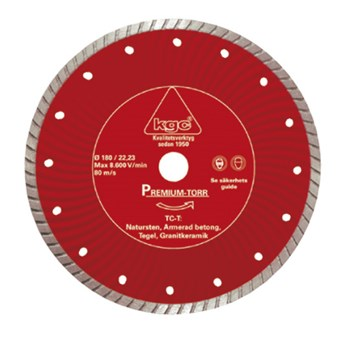 Diamantklinga TC-T 125/22 23mm Torrkap 1763