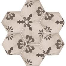 Terra Black/White Hexagon Mix Giglio