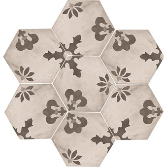 Terra Black/White Hexagon Mix Giglio 4724