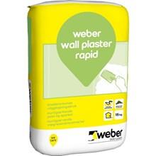 Weber wall plaster rapid 15kg