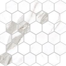 Marmi Statuario Levigato Hexagon Rect