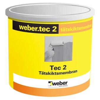 Webertec membran och folielim 5 kg 2806